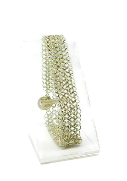 Sterling Silver European 4 in 1 Chainmaille Bracelet