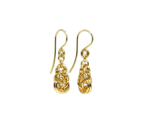 14kt Gold Fill Graduated Full Persian Earrings