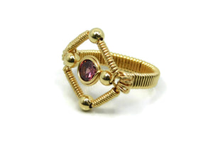Vibrant Collection - 14kt Gold Fill Single Gem Ring