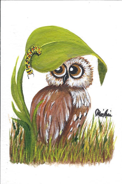 Hoot the Burrowing Owl Coasters - Sold Individually - Click image for more info