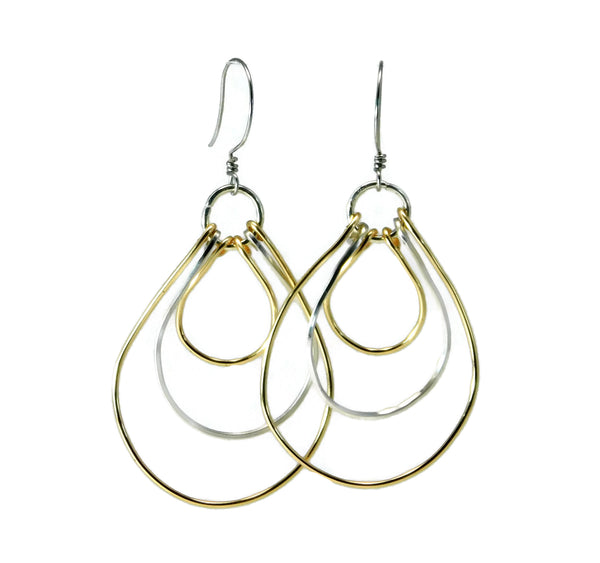Wire Wrapping Mastering the Basics Multi Loop Earrings