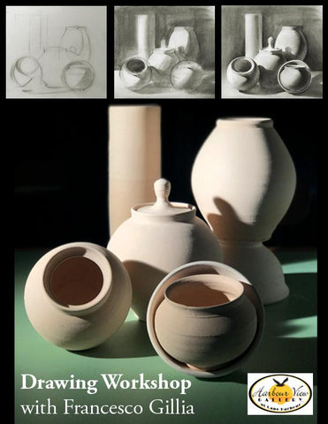 Francesco Gillia Drawing Foundation Workshop: Still Life Bowls and Vessels