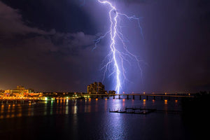 Quinn Sedam Lightning Photography Raining Bolts