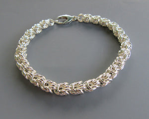Rosetta Weave Chainmaille Bracelet Class with Bev Fox
