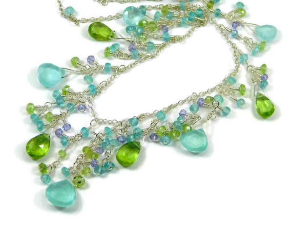 Bright Water Necklace