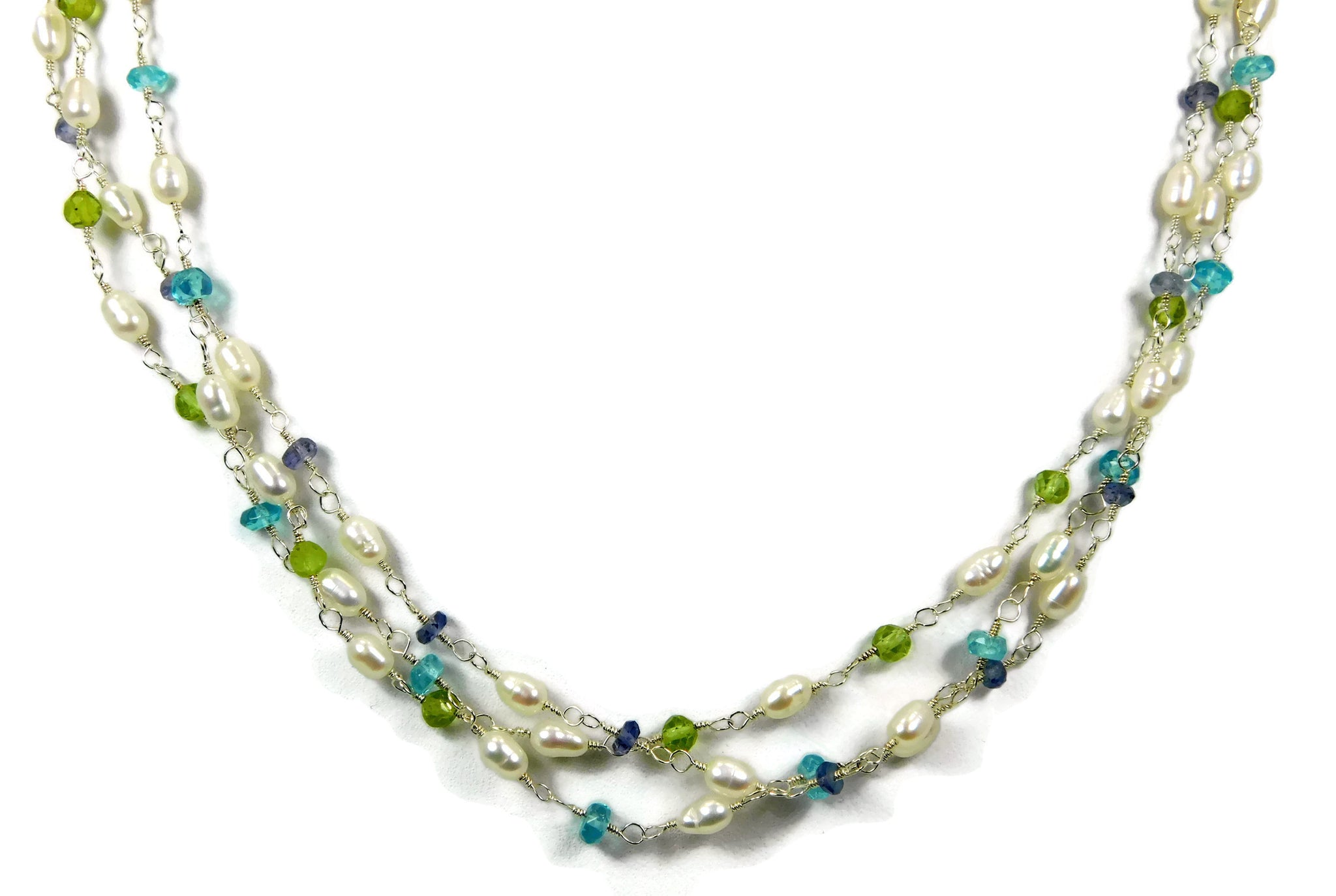 Whitecaps Necklace Sandy Jones