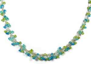 apatite peridot Smooth Sailing Necklace Sandy Jones