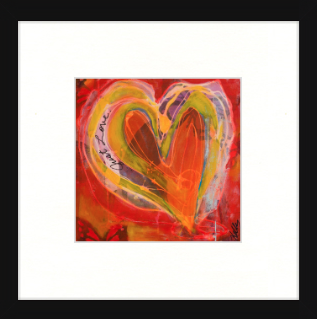 Just Love - *Limited Edition* - Matted Print on Paper
