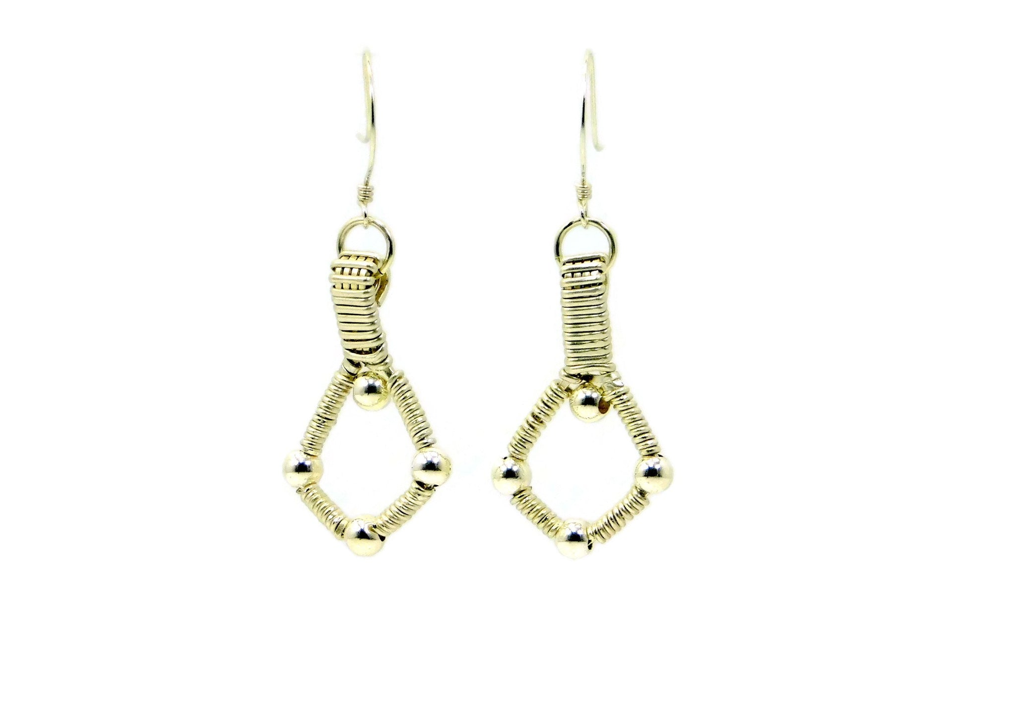 Sterling Silver Single Profile Earrings
