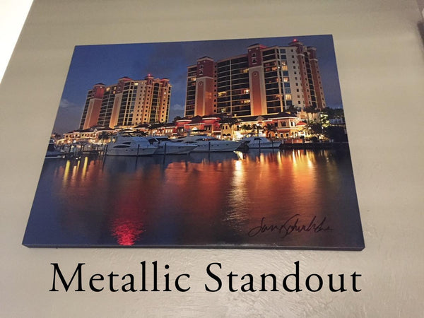 Metallic Standout Example Photographic Art Jeanne Schwerkoske