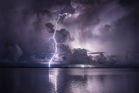 Quinn Sedam Lightning Photography Steely Blue
