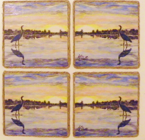 Acrylic Reversible Coasters