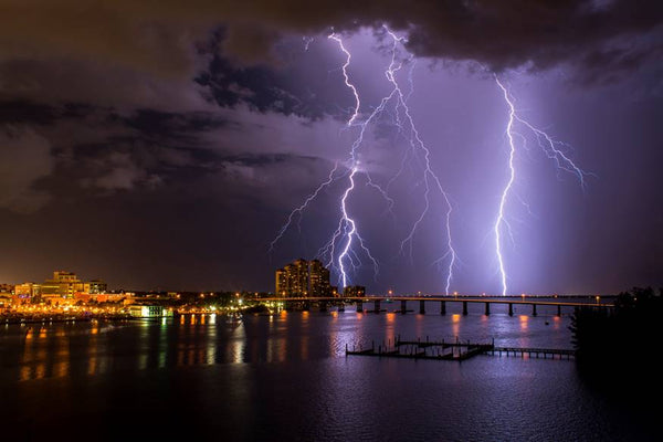 Quinn Sedam Lightning Photography The Caloosahatchee lightning photography art, storm art, storm artwork, storm chasing, storm photography, thunderstorm photography. storm photographer, thunderstorm photographer, lightning print, lightning photography, lightning photography for sale, pictures of fork lightning, best lightning photography, best lightning photographers, photo thunder, photographs of storms, lightning photographer
