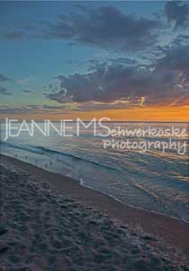 Twilight on Captiva Photographic Art Jeanne Schwerkoske