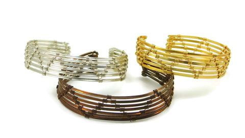 Zig Zag Cuff Bracelet Wire Wrapping Class with Heather Rivera
