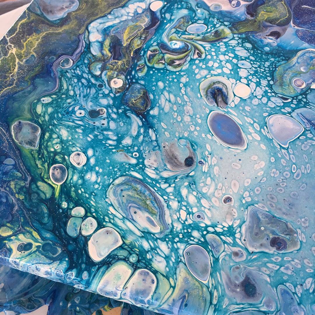 12/12 10am - 1pm Acrylic Pouring with Rachelle Meagher