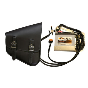 Juice Bag - Nashty Bag / Black / Brass - Leather