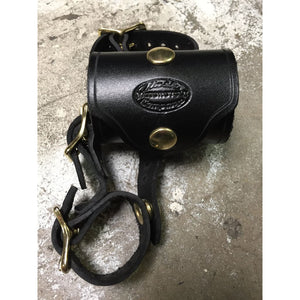 Leather Hammer Hanger - Black / Brass - Leather