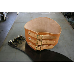 Long Tall Kidney Belt - Leather