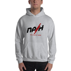 Nash Bolt Hooded Sweatshirt (3 color options) - Sport Grey / S - Apparel