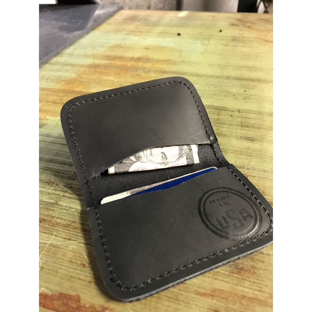 Nash Card Stash - Black - Leather