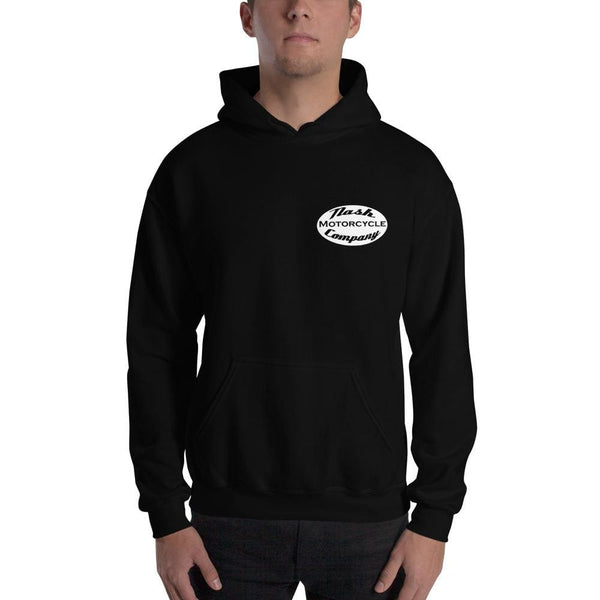Nash Oval Logo Hooded Sweatshirt (5 color options) - Black / S - Apparel