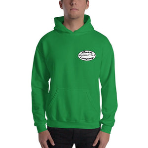 Nash Oval Logo Hooded Sweatshirt (5 color options) - Irish Green / S - Apparel