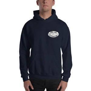 Nash Oval Logo Hooded Sweatshirt (5 color options) - Navy / S - Apparel