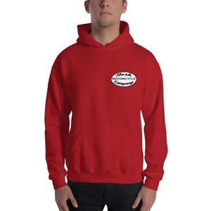 Nash Oval Logo Hooded Sweatshirt (5 color options) - Red / S - Apparel