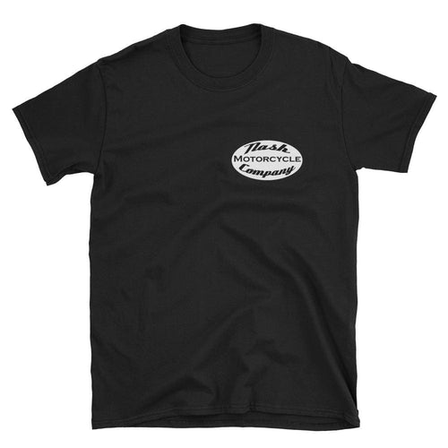 Nash Oval Logo Short-Sleeve T-Shirt - Black / S - Apparel