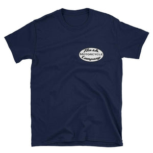 Nash Oval Logo Short-Sleeve T-Shirt - Navy / S - Apparel
