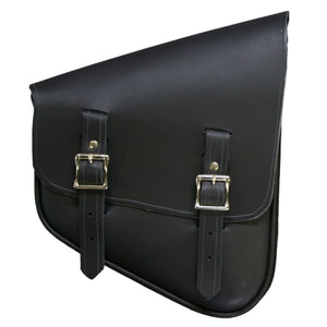 Nashty Bag - Black / Nickel / Right - Leather