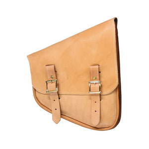 Nashty Bag - Natural / Brass / Right - Leather
