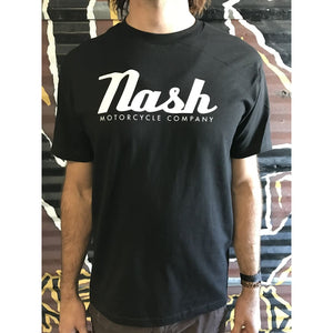 New Nash Script Logo Mens S/S T-shirt - Apparel