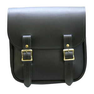Sancho Bag - Black / Brass / Left - Leather