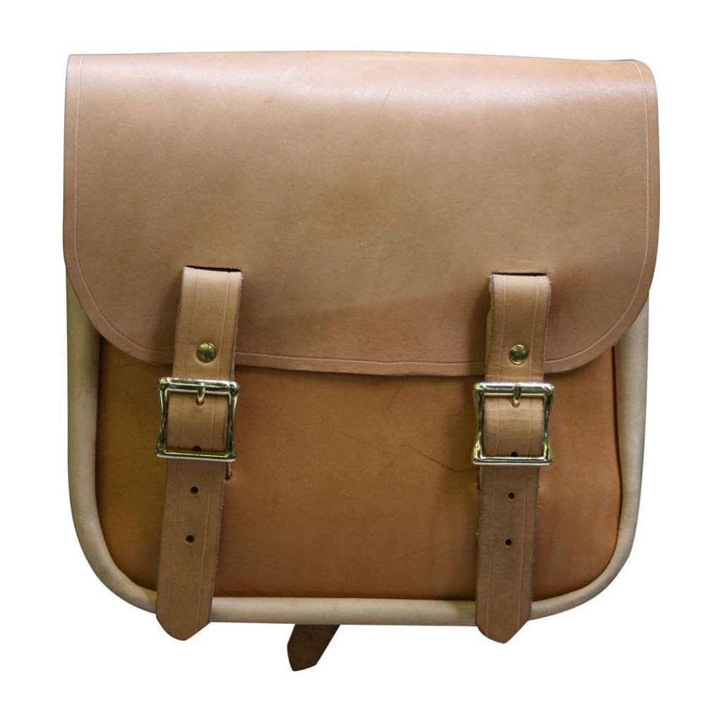 Sancho Bag - Natural / Brass / Left - Leather