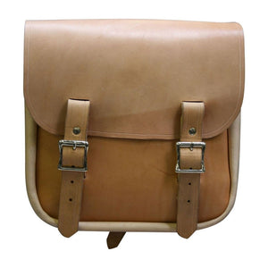 Sancho Bag - Natural / Nickel / Left - Leather