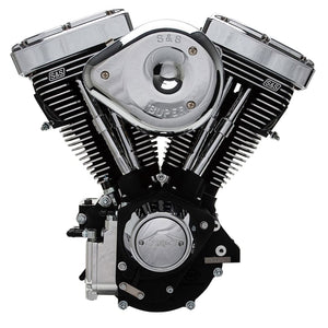 S&S V80R Complete Assembled 50 State Legal Engine for 1984-98 Carbureted Non-Catalyst Big Twins