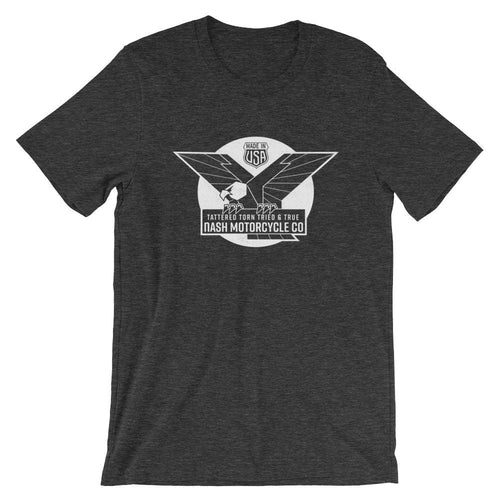 The Victory T-Shirt - Dark Heather Gray - S - Apparel