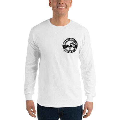 Trucky Long Sleeve T-Shirt - White - S - Apparel