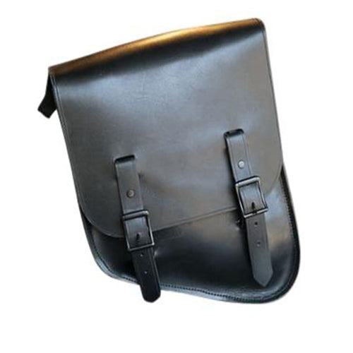 Upside Down Half & Half Bag - Leather