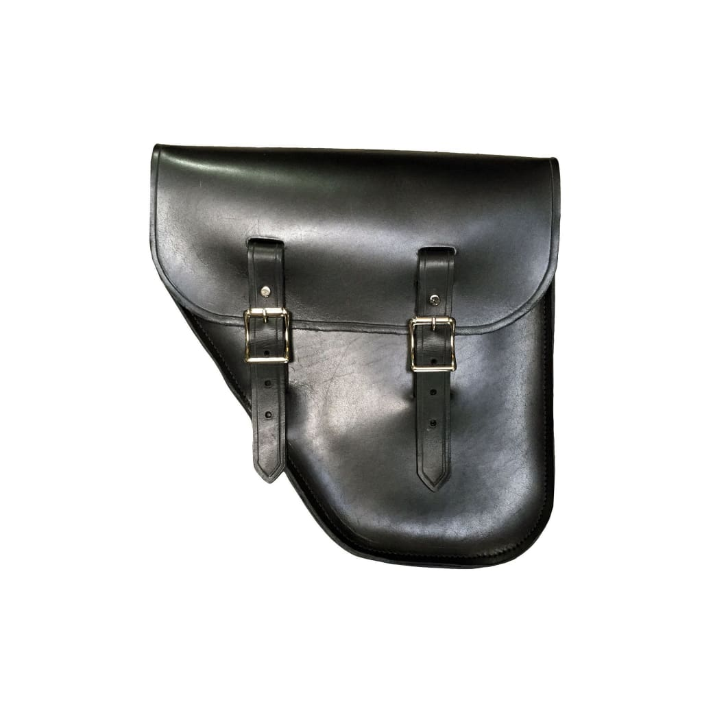 Windy Bag - Black / Brass / Left - Leather