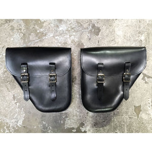 Windy Bag - Black / Brass / Left & Right Set +$200 - Leather