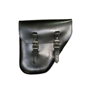 Windy Bag - Black / Brass / Right - Leather
