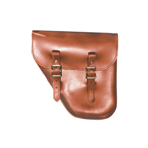 Windy Bag - Brown / Brass / Left - Leather