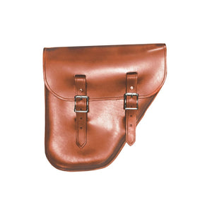Windy Bag - Brown / Brass / Right - Leather