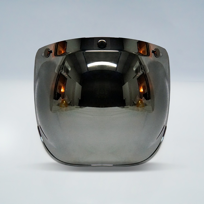 Wreckless Chrome Bubble Visor