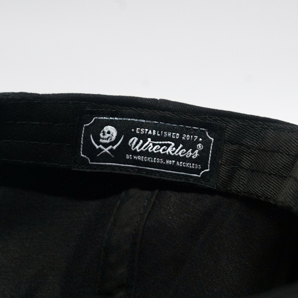 WRECKLESS SHIELD SNAPBACK CAP