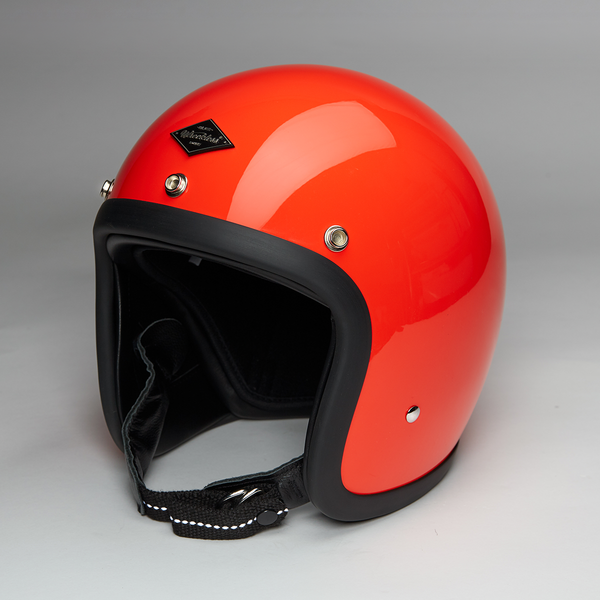 Jet Helmet Gloss Orange