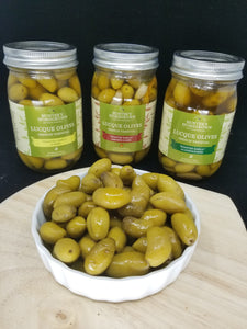 French Varietal Lucque Olives (16 oz. jar)